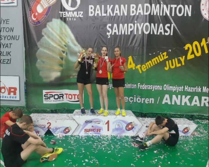 Marija Sudimac i Sara Lončar donele medalje i sa Balkanskogprvenstva Ankari