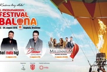 "Četvrti međunarodni Festival balona ""Kruševac kroz oblake"" od 2. do 4. avgusta na Bagdali"