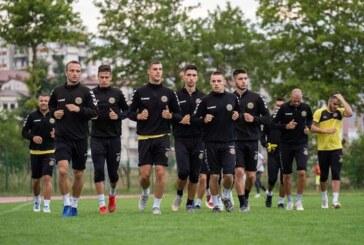 Fudbaleri Trajala na pripremama u Ohridu