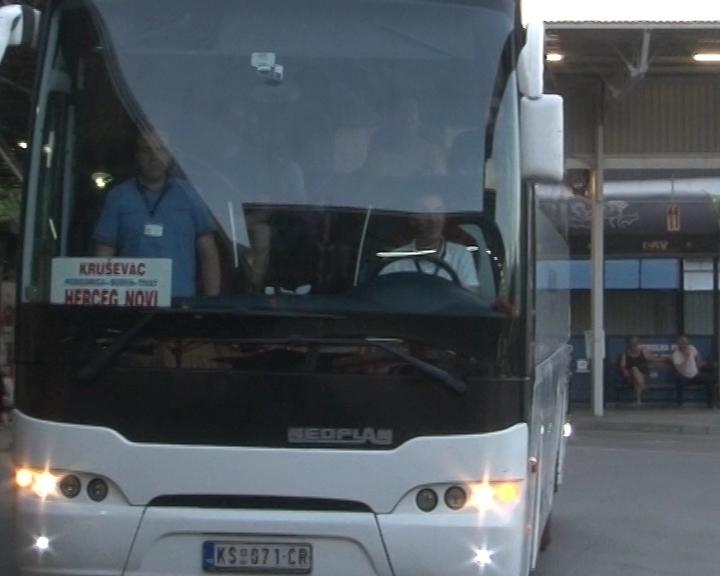 Jugoprevoz Kruševac uveolinije do Crnogorskog primorja