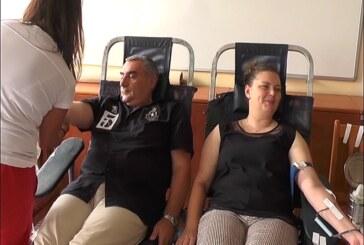 Akcija dobrovoljnog davanja krvi u Policijskoj upravi Kruševac