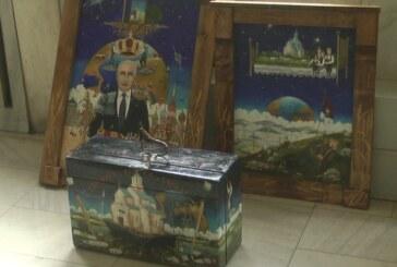 Kruševački slikar naivac Zoran Anđelković Kec nagrađen na umetničkom festivalu u Volgogradu