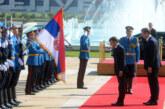 Predsednik Francuske u poseti Srbiji