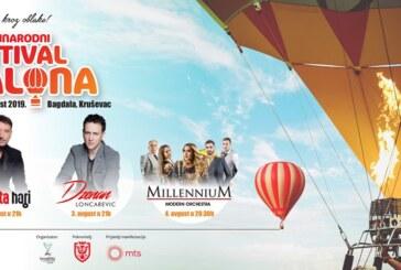 KRUŠEVAC KROZ OBLAKE: Četvrti Međunarodni festival balona