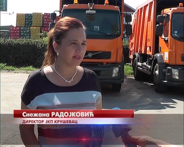 JKP Kruševac od ponedeljka počinje sa organizovanim iznošenjem smeća iz preostalih 35 seoskih mesnih zajednica