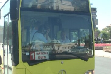 Većina autobusa kruševačkog Jugoprevoza AD na gradskim linijama opremljena klima uređajima