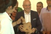 Ministar Vukosavljević obišao arheološki lokalitet kod sela Vitkovo na kome je pronađena figurina boginje plodnosti