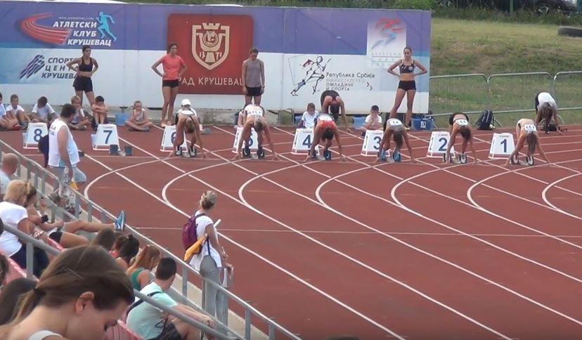 Kruševac još jednom veoma uspešan kao domaćin takmičenja u atletici