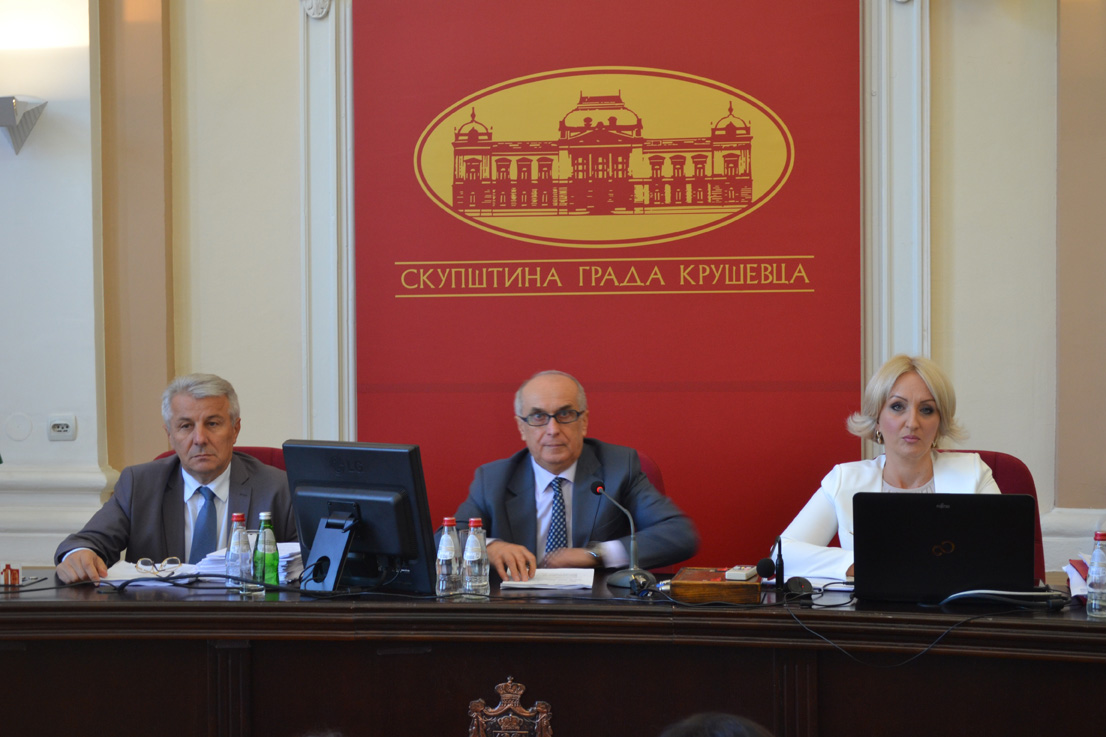 Održana sednica Skupštine Grada Kruševca