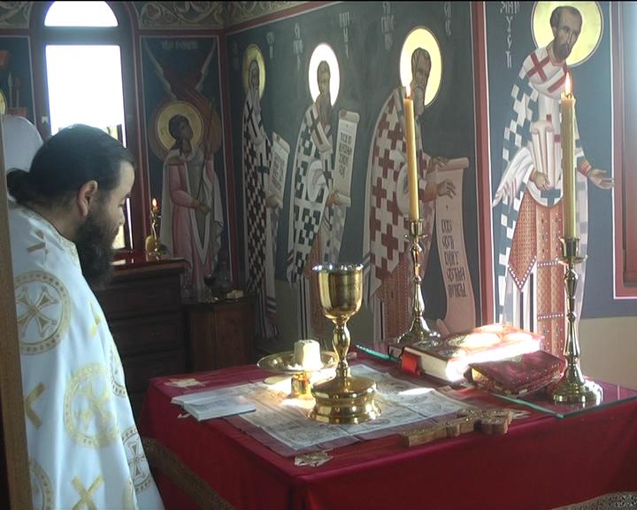 U Crkvi na Bagdali obeležen dan Usekovanja glave Svetog Jovana Krstitelja