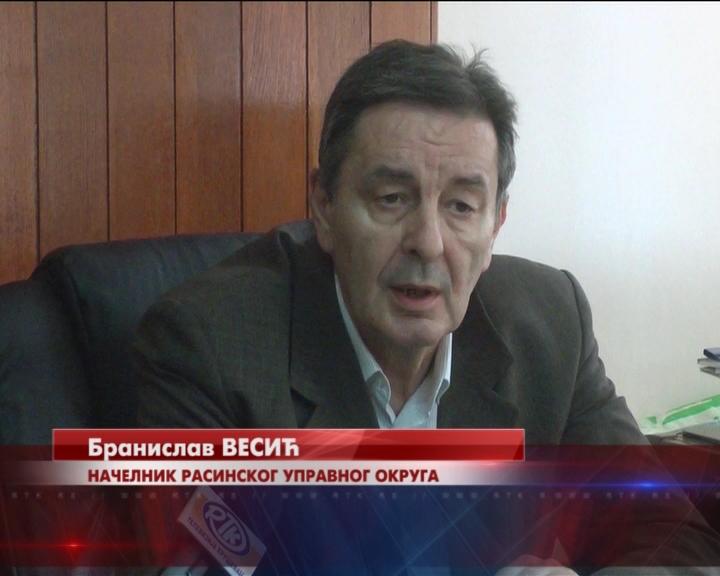 Načelnik Rasinskog Upravnog okruga Branislav Vesić: Razvoj privrede prioritet