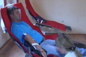 Akcija dobrovoljnog davanja krvi u Domu kulture u Kaoniku