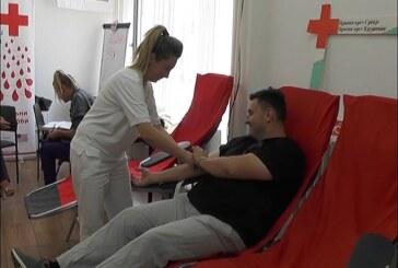 U prostorijama Crvenog krsta u Kruševcu akcija dobrovoljnog davanja krvi, prikupljeno pedesetak jedinica
