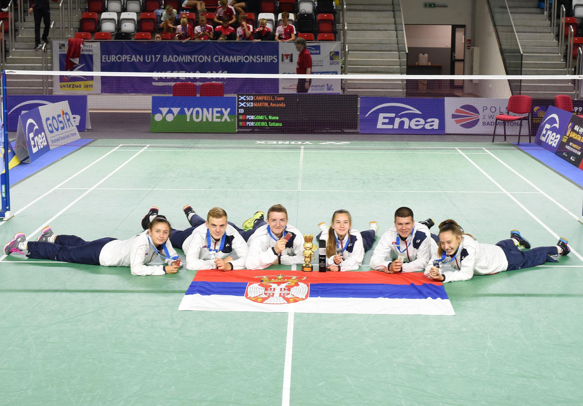 Badmintonisti vicešampioni Evrope, veliki doprinos Kruševljana
