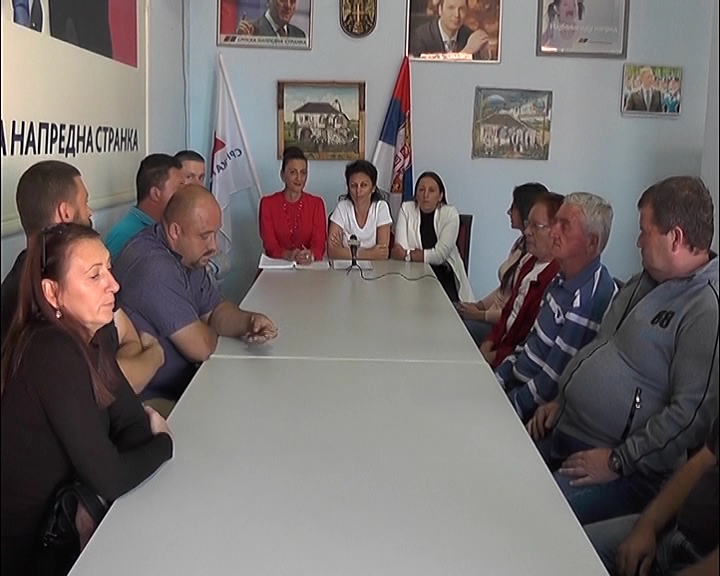 Konferencije za medije Opštinskog odbora SNS u Ćićevcu