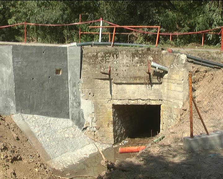 U Mačkovcu u toku popravka mosta