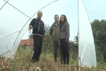 Porodice Jovanović, Pavlović i Živković iz Makrešana dobile sredstva za podizanje plastenika