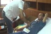 """Akcija dobrovoljnog davanja krvi u organizaciji Humanitarog udruženja """"Od srca"""" Telekom Srbija regija centra"""