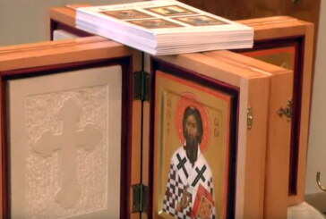 """U crkvi Lazarici osveštane nagrade koje će biti uručene pobednicima Festivala """"Snažni duhom"""""""