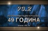 Radio Kruševac – 49 godina sa vama