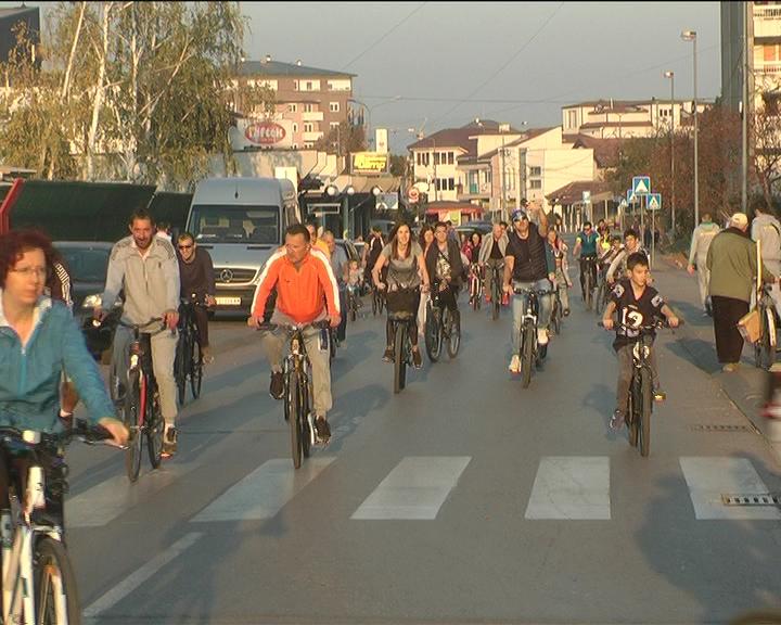 """U organizaciji kluba za brdski biciklizam """"Bela stena"""" održana osma rekreativna gradska vožnja"""