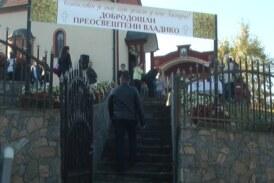 Pokrov Presvete Bogorodice, slava Hrama, svečano proslavljen u selu Gari