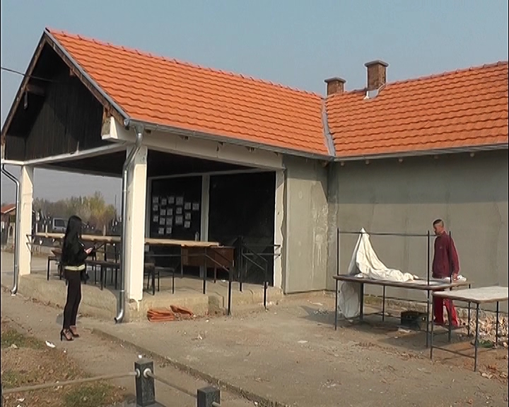 Radovi na revitalizaciji spoljne fasada kapele na bivoljskom groblju
