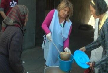 Punkt Narodne kuhinje obišli predstavnici Crvenog krsta i Centra za socijalni rad