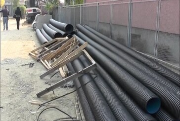 U toku prva faza izgradnje atmosferske kanalizacije u Ulici Jovana Ristića u Bivolju