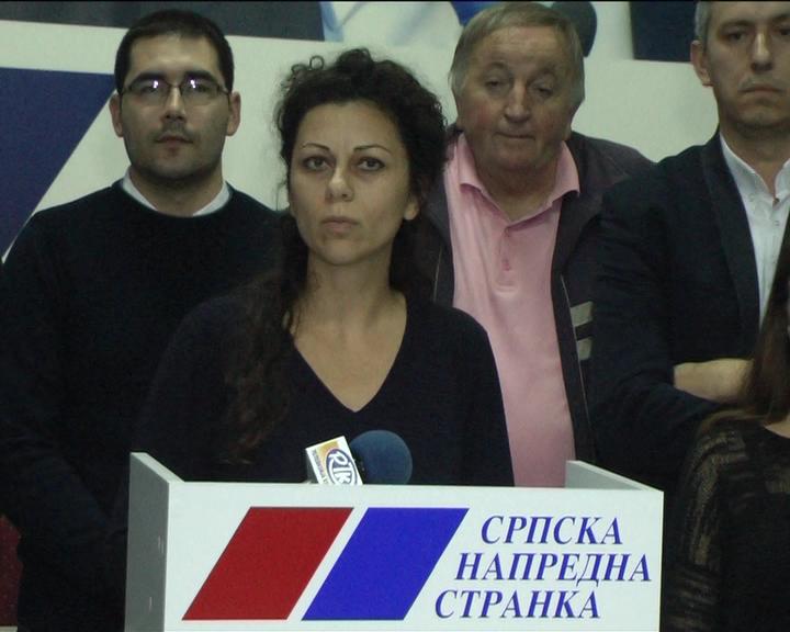U Ćićevcu održana konferencija za novinare Opštinskog odbora Srpske napredne stranke