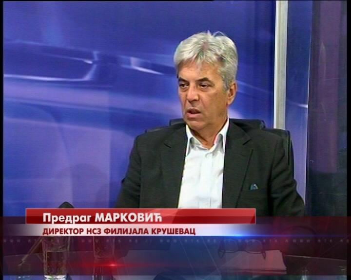 RAZGOVOR S POVODOM: Direktor kruševačke filijale Nacionalna službe zapošljavanja Predrag Marković