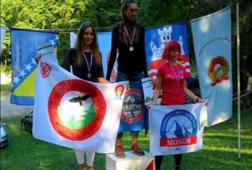 """Ženska ekipa Planinarskog kluba """"Jastrebac"""" najbolja u 6. kolu Treking lige Srbije na Rajcu"""