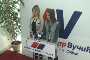 Obeležavanje Dana oslobođenja grada Kruševca tema konferencije za medije Gradskog odbora SNS