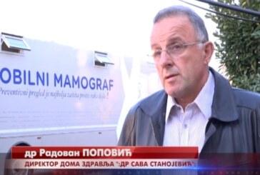 U Trsteniku u toku besplatni pregledi digitalnim mamografom za sve žene od 45 do 69 godina