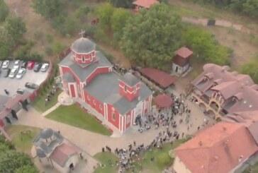 Svetosavska bašta posvećena izgradnji Manastira Svetog Luke i osveštavanju nove Crkve