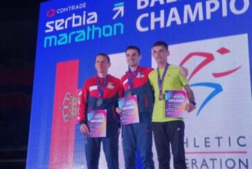 Nenad Živković treći na Državnom prvenstvu u maratonu