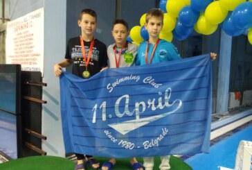 Plivačima Napretka deset medalja na Međunarodnom mitingu u Pančevu