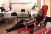 U prostorijama Crvenog krsta u Kruševcu održana akcija dobrovoljnog davanja krvi