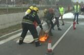 Kompanija Kromberg i Šubert u saradnji sa Vatrogasno spasilačkom jedinicom Grada Kruševca organizovala pokaznu vežbu