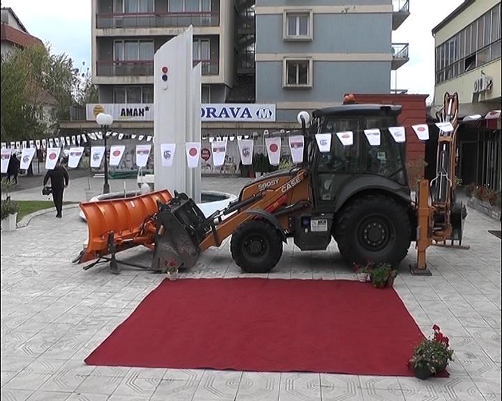 """Poklon Vlade Japana Javnom preduzeću """"Putevi Ćićevca"""""""