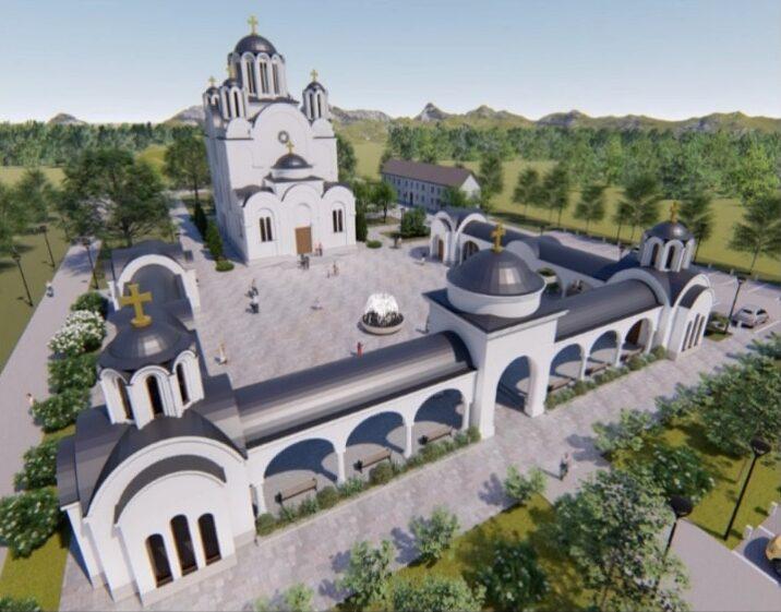 U nedelju početak izgradnje novog hrama na Bagdali
