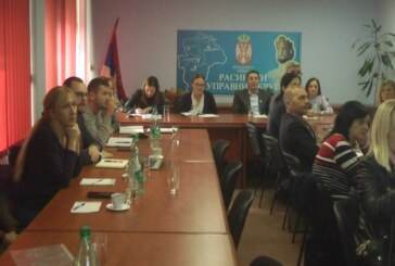 Sastanak predstavnika Kruševca, Brusa i Blaca o izgradnji Regionalnog postrojenja za prečišćavanje otpadnih voda