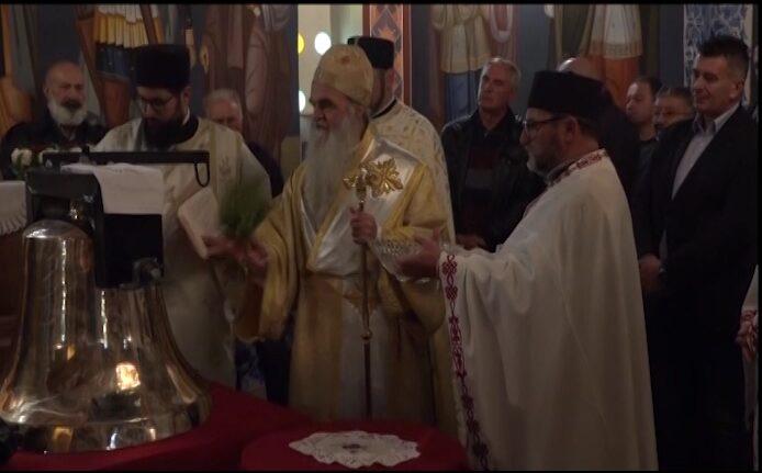 U ckrvi u Jasikovici osvećeno i postavljeno novo zvono