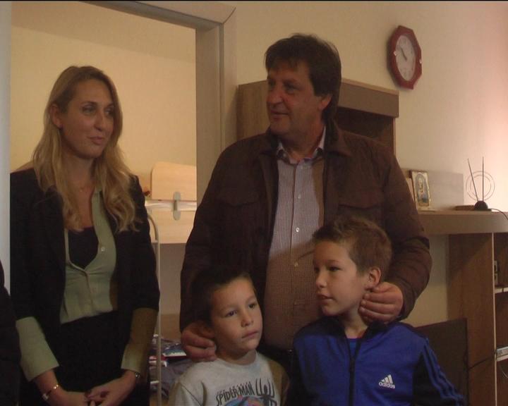 Sedmočlana porodica Petrović iz Žitkovca dobila novu kuću