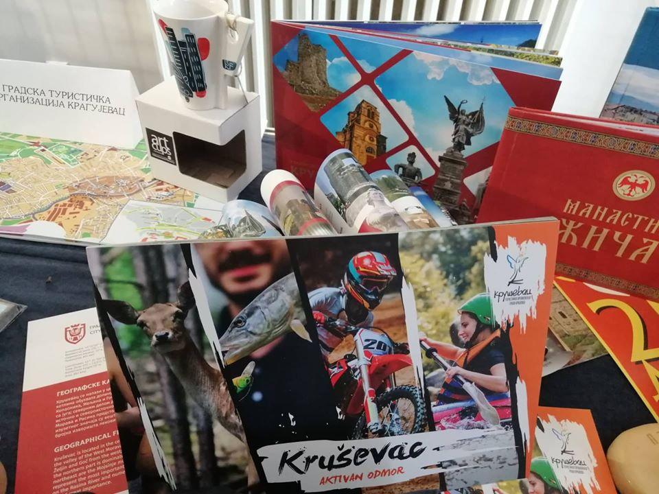 Nagrade Turističkoj organizacija grada Kruševca na Međunarodnoj izložbi u Leskovcu