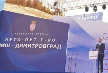 Predsednik Aleksandar Vučić: Građani Srbije su finansirali izgradnju Koridora