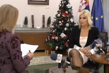 Intervju ministarke Zorane Mihajlović za Radio Televiziju Kruševac
