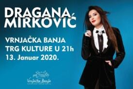 Dragana Mirković za doček Srpske Nove godine peva u Vrnjačkoj Banji, na Trgu kulture
