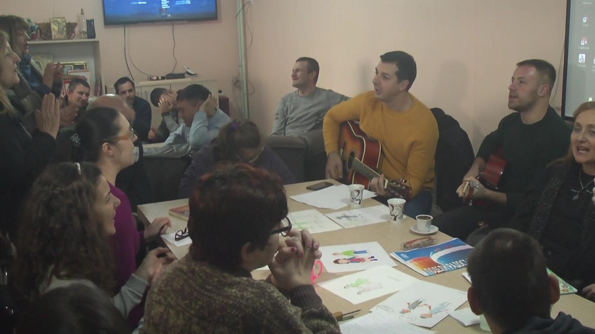 U Centru za osobe sa invaliditetom Grada KruševcatradicionalnoNovogodišnje druženje