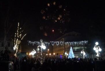 Srpska Nova godina trdiocionalno dočekana na Trgu u Aleksandrovcu